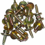 1971-1979-FORD-FENDER-BODY-BOLTS-14-20-25-pcs-YELLOW-ZINC-CHROMATE-9517-0-0