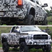 2002-2008-Dodge-Ram-1500-03-09-Ram-2500-3500-POCKET-RIVET-Paintable-Fender-Flare-0-5