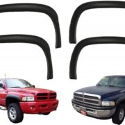 4pc-OE-Factory-Style-Black-Paintable-Fender-Flares-For-1994-2001-Dodge-Ram-NEW-0-0