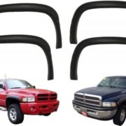 4pc-OE-Factory-Style-Black-Paintable-Fender-Flares-For-1994-2001-Dodge-Ram-NEW-0