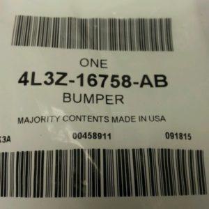 New-OEM-Ford-Hood-Rest-Bumper-4L3Z-16758-AB-0