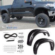 PAINTABLE-07-13-Toyota-Tundra-Pocket-Riveted-Fender-Flares-Wheel-Cover-Texture-0-0