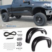 PAINTABLE-07-13-Toyota-Tundra-Pocket-Riveted-Fender-Flares-Wheel-Cover-Texture-0