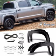 PAINTABLE-14-16-Toyota-Tundra-Pocket-Riveted-Fender-Flares-Wheel-Cover-Smooth-0