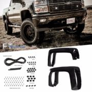 Paintable-14-16-Chevy-Silverado-1500-6-8-Bed-Pocket-Riveted-Fender-Flares-0-0