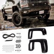 Paintable-14-16-Chevy-Silverado-1500-6-8-Bed-Pocket-Riveted-Fender-Flares-0