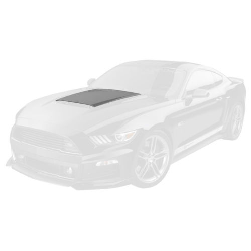 Roush 421858 mustang hood scoop unpainted 2015 2017 auto body sales roush 421858 mustang hood scoop unpainted 2015 2017 freerunsca Choice Image