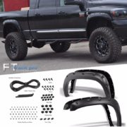 TEXTURED-2002-2008-DODGE-RAM-1500-Pocket-Riveted-Fender-Flares-Cover-Paintable-0-0