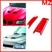 Universal-ABS-Paintable-Hood-Scoop-Fit-SUV-Sedan-Car-2Pcs-0-0
