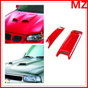 Universal-ABS-Paintable-Hood-Scoop-Fit-SUV-Sedan-Car-2Pcs-0