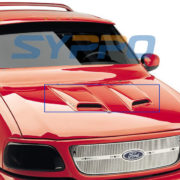 Universal-ABS-Paintable-Hood-Scoop-TOYOTA-SIENNA-SEQUOIA-HIGHLANDER-SUV-2Pcs-0-0