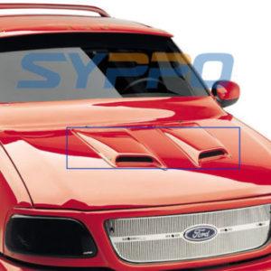 Universal-ABS-Paintable-Hood-Scoop-TOYOTA-SIENNA-SEQUOIA-HIGHLANDER-SUV-2Pcs-0